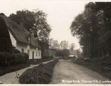 Broad End - Old Black & White Postcard