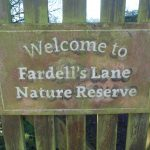 Fardell's Lane Reserve sign