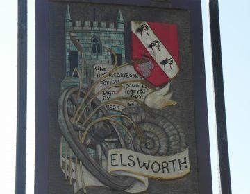 Elsworth Village Sign