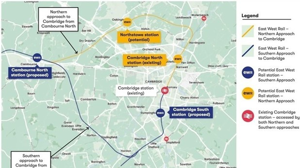 Public Consultation Meeting on East West Rail & Cambourne Station