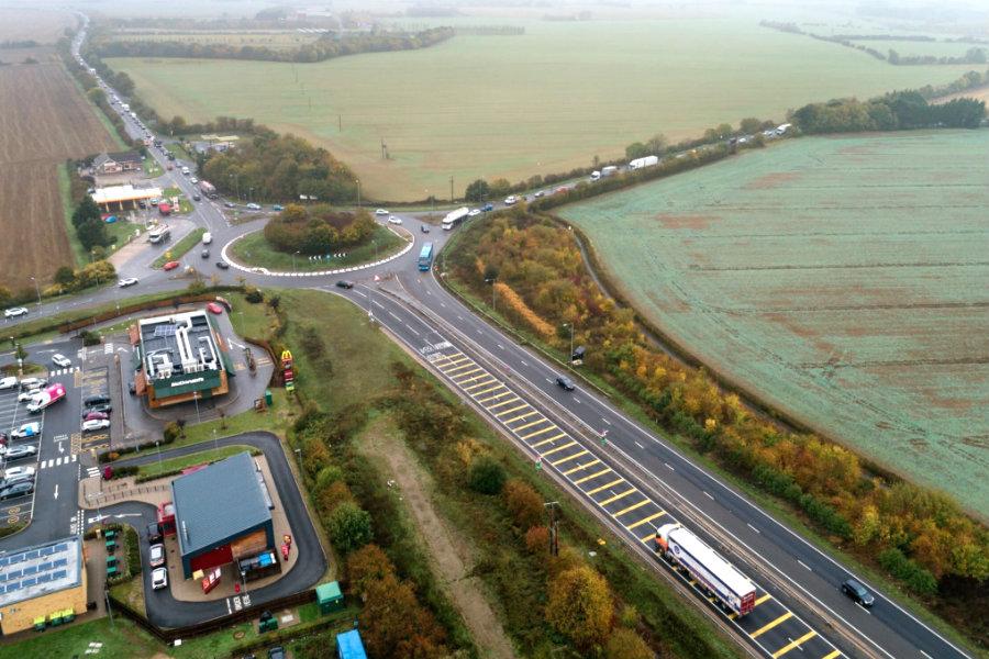 A428 Black Cat to Caxton Gibbet Road Improvement scheme